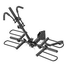 CURT 18084 Tray-Style Hitch-Mounted Bike Rack