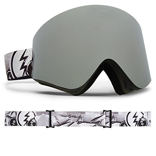 Electric Visual EGX Duct Tape/Brose Silver Chrome Snow - Goggles Egx Electric