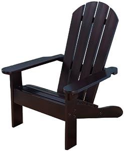Good KidKraft Adirondack Chair   Espresso
