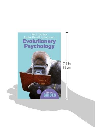 Evolutionary Psychology A Beginner S Guide Beginner S