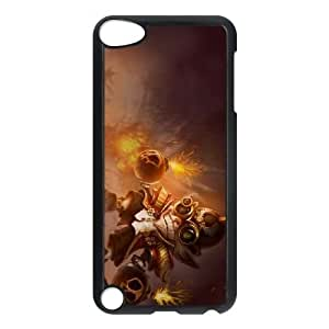 iPod Touch 5 Case Black League of Legends Major Ziggs EUA15964738 Plastic Phone Case Cover For Girls