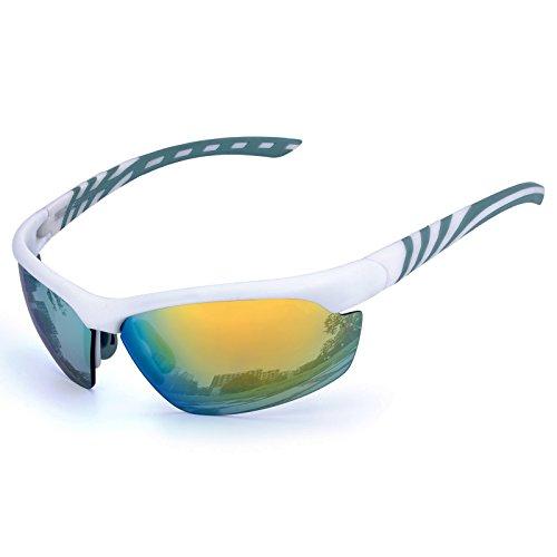 b616c532d6 MEETLOCKS Gafas de sol deportivas para hombres o mujeres con protección  UV400, para ciclismo,