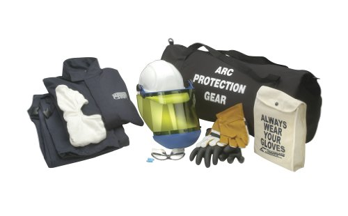 Chicago Protective Apparel Arc Flash Jacket & Bib Kit, 12 cal Extra Large & Size 10