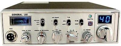 Upgraded Schottky Receiver Aligned General Lee 10 Meter Radio Pro Tuned