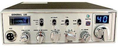 General Lee 10 Meter Radio Pro Tuned – Aligned – Upgraded Schottky Receiver