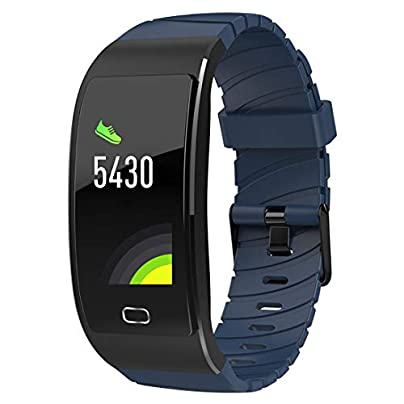 Fitness Tracker Waterproof Smart Watch Sports Band Bracelet Bluetooth Wristband with Heart Rate Monitor Pedometer Sleep Monitor Call Message Reminder for Men Women Estimated Price £38.74 -