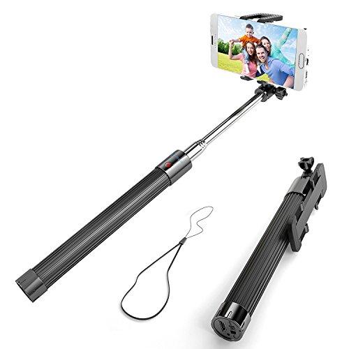 Selfie Stick, Enther Self-portrait Monopod Exte...