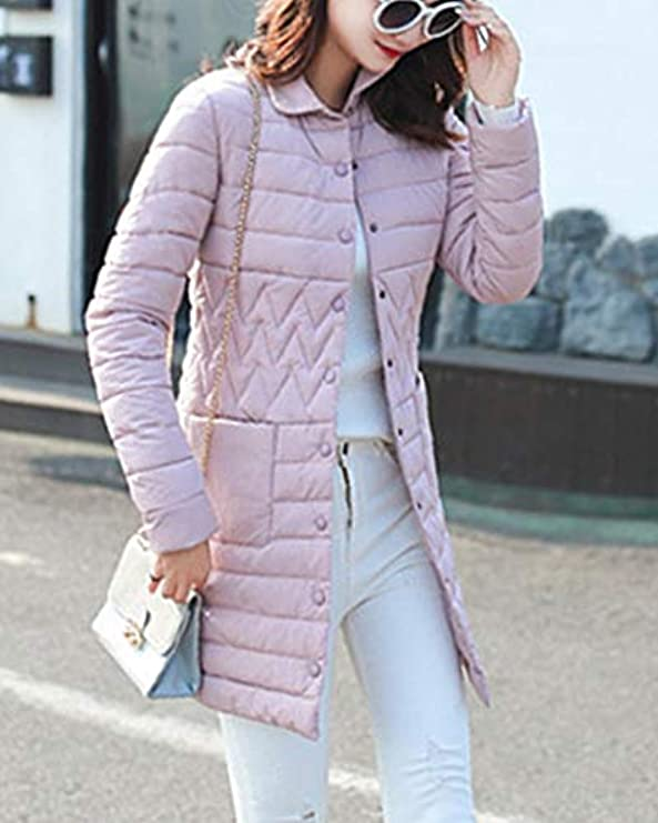 Capispalla Shaoyao Parka Donna Jacket Winter Down Long PqxfPZw8r