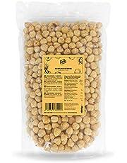 KoRo - Geblancheerde hazelnoten 1 kg - Hazelnoten zonder dop, zonder additieven en bewaarmiddelen, ideaal om te bakken of als tussendoortje