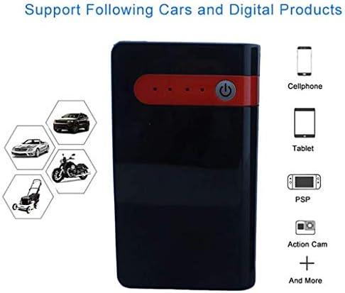Cuthf Tragbare Auto Starthilfe Batterie 600a 20000mah Car Jump Starter Mobiler Notfall Batterie Booster Bis Zu 6 0l Benziner Oder 4 0l Dieselmotor Mit Led Rot Sport Freizeit