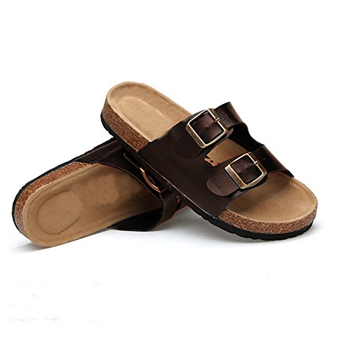 Anti Pantoufles Nouveaux La dérapantes De 43 a 35 Mode Des Extérieur Brown Sandales Guang Commerce Amoureux Xing PW7nA8gx