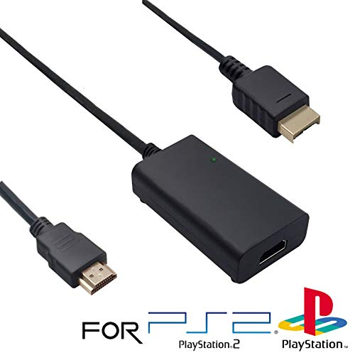 HD Link Cable for PlayStation 2 & PlayStation 1 (All PS2 & PS1 Models)