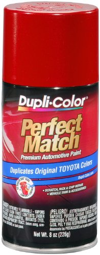 Dupli-Color EBTY16187 Barcelona Red Metallic Toyota Exact-Match Automotive Paint - 8 oz. (Barcelona Finish)