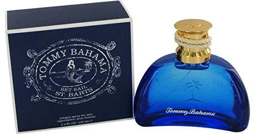 Toṁmŷ Baĥamă Set Sail St. Barts Cologne Men Eau Cologne Spray (Vintage) 3.4 FL.OZ./100 ml