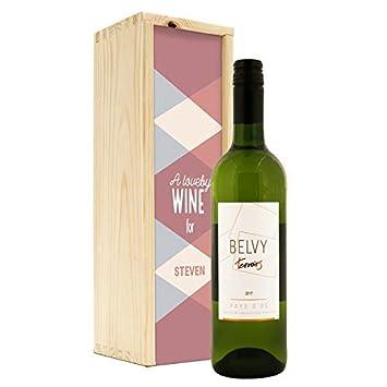 YourSurprise Vino en Estuche Impreso - Belvy - Blanco ...