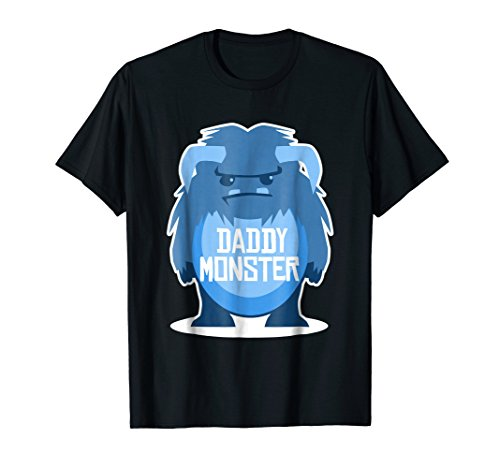 (Dad Halloween Costume Funny Daddy Monster T-shirt Men)