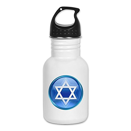 Kid's Water Bottle Blue Star of David Jewish