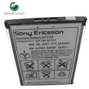 OEM Replacement Lithium-ion Battery for Sony Ericsson F305 (BST-33)
