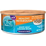 Purina One Healthy Metabolism, White Meat Chicken 3 ounces (24-pack)