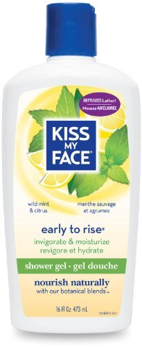 16 Ounce Koi - Kiss My Face Bath & Shower Gel Early To Rise Wild Mint & Citrus - 16 Oz by Kiss My Face