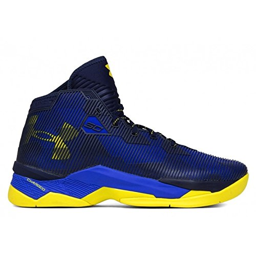 Under Armour Mens UA Curry 2.5 Basketball Shoes - Team Royal/Midnight Navy/Taxi Under Armour