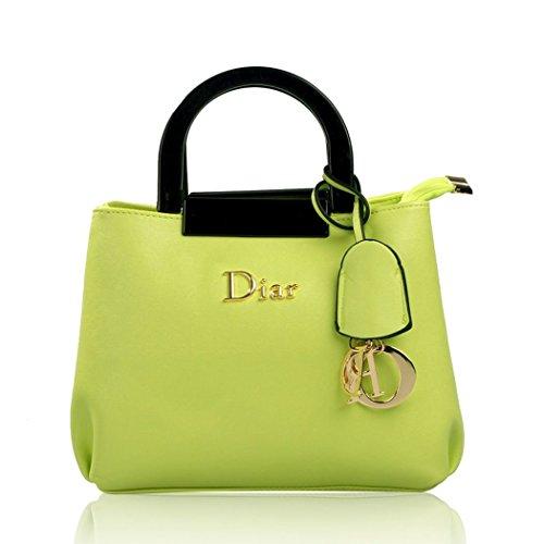Shiraleah Print Clutch (Ryse Womens Fashionable Classic Retro Exquisite Temperament Handbag Shoulder Bag(Green))