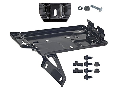 24F Battery Tray Kit 1965-66 Mustang with Short Hold-Down Mount Clamp Bolt GT Shelby (EBC5ZZ-10732KT-24F)