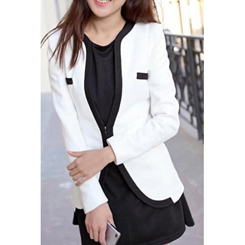 00b16761dbd hot sale 2017 SHOWNO-Women Work Office Blazer Casual Long Sleeve  Lightweight Jacket