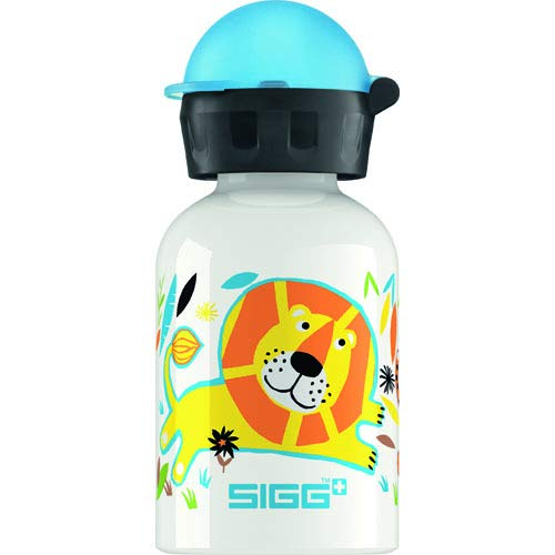 (Sigg Jungle Family Water Bottle for Kids, 0.3 Liter -- 6 per case.)