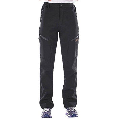 Unitop Women's Cargo Pants Snow Ski Pants Deep Gray-2 32/30.5