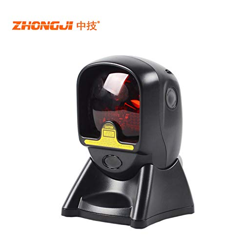 ZHONGJI ZJ-9120 Hands-Free Automatic 2D QR Barcode Reader with USB