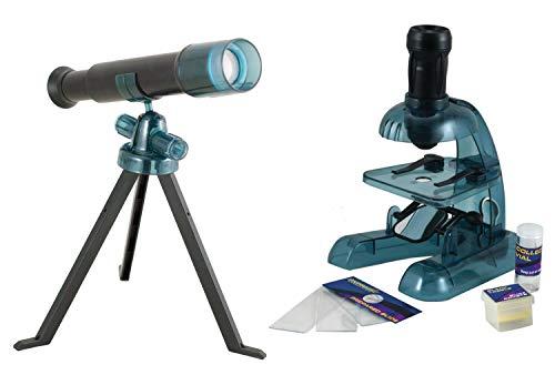 Jr. Science Explorer - Telescope Kit & Microscope Kit - Set of 2
