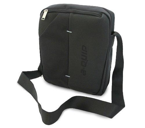 aQuip F-10 FUSION Tablet- und Netbooktasche für Geräte mit bis zu 25,6 cm (10,1) ideal für iPad schwarz Schwarz