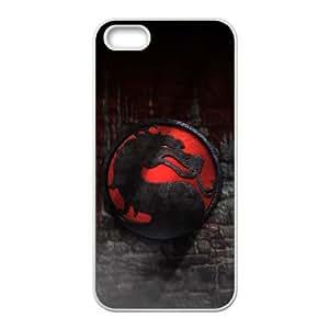 Mortal Kombat iPhone 5 5s Cell Phone Case White xlb2-381767