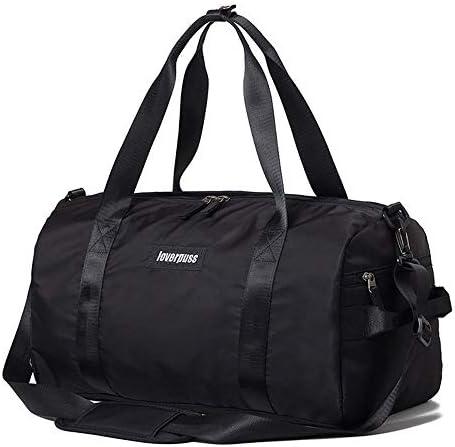 BAJIMI フィットネスバッグ女性のバッグ潮ショルダーバッグヨガ軽量スポーツポータブルトレーニングパッケージウェットとドライの分離防水水泳バッグ (Color : A)