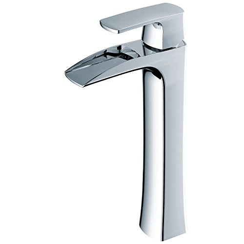 SBWYLT-Light waterfall high above counter basin water hot and cold water basin tap faucet cheap