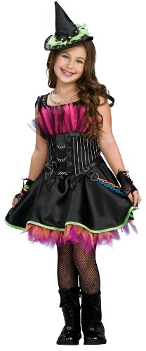 Rockin' Out Witch Child Costume - Medium - Rockin' Out Witch Child Costumes