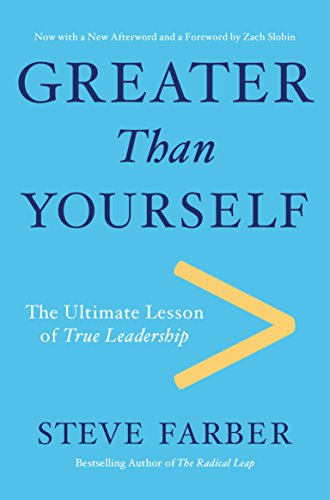 Greater Than Yourself: The Ultimate Lesson of True Leadership College Mens All Star Watch