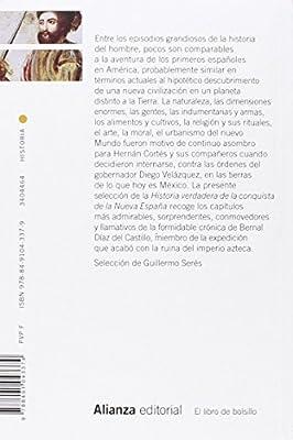 Historia verdadera de la conquista de la Nueva España Antología El ...