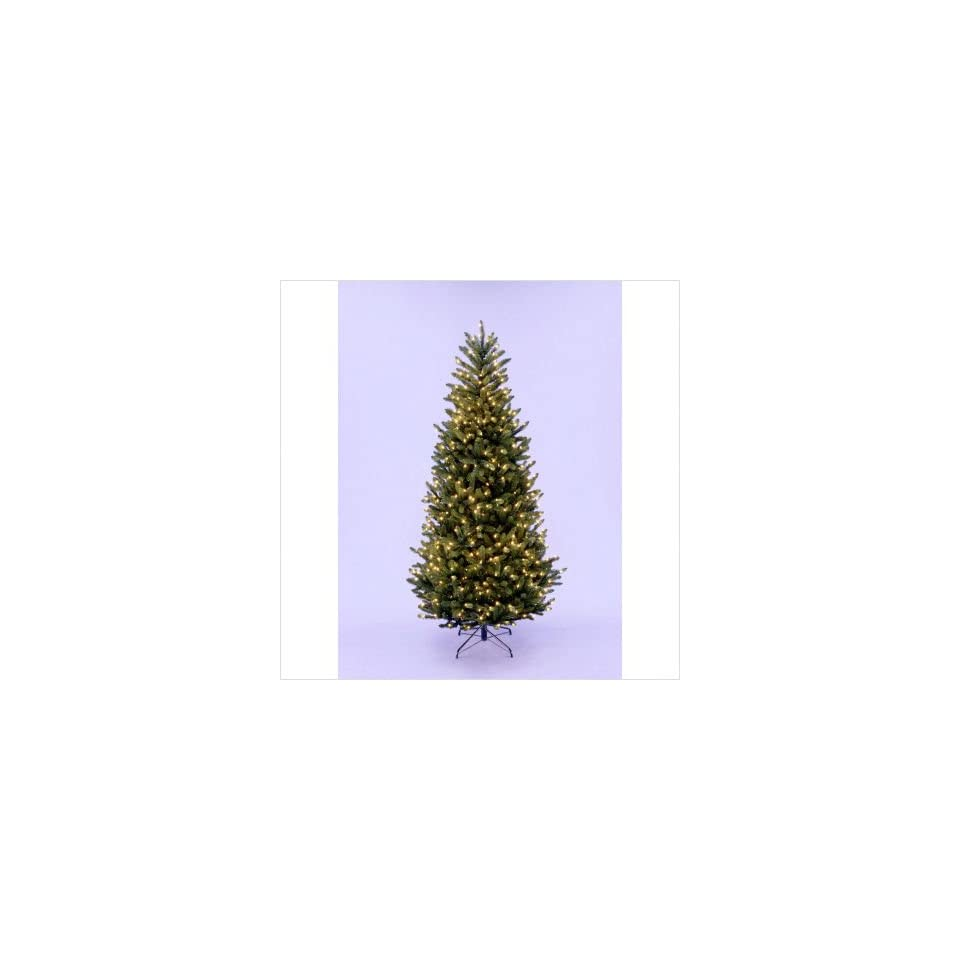 Fraser Fir Artificial Christmas Tree with Clear Lights