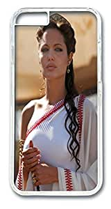 Alexander Angelina Jolie Custom iphone 6 plus 5.5inch Case Cover Polycarbonate Transparent by Maris's Diaryby Maris's Diary