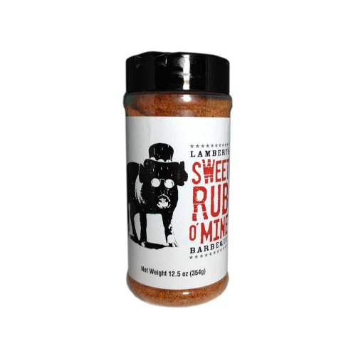 Lambert's Sweet Rub O' Mine (12.5 Ozs) (Best Dry Rub For Baby Back Ribs)