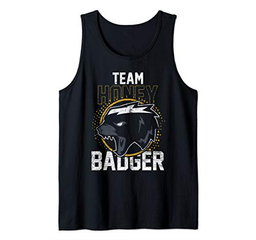 Team Honey Badger Tank Top (Top Tank Honey Badger)