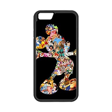 be39ceba2df Carcasa para iPhone 6 (4.7 inch), Disney Mickey Mouse Minnie iPhone 6S  silicona