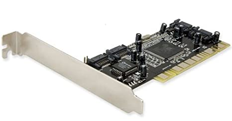 SYBA - Tarjeta PCI (4 Puertos SATA I/II, con Software Raid ...