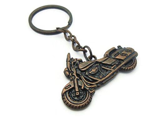 [K-56 Motorcycle Cruiser Bike Keychain Key Ring Motor Keyring, K37] (Patrick Starfish Costumes)