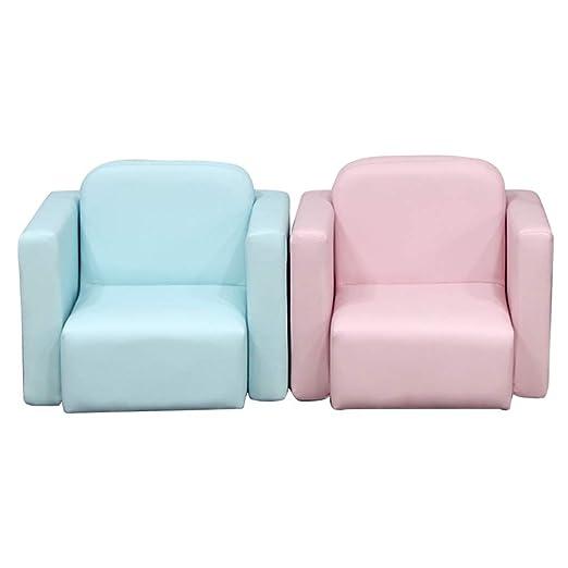Asiento de sofá Multifuncional para niños, cojín de Cuero de ...