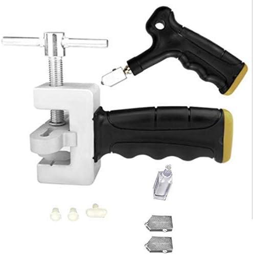WXQ-XQ ガラスタイルオープナーハンドグリップタイルカッター周器ガラスカッターオープナーブレイカーハンドヘルドガラスのタイルクイックオープニングセット 遮断器