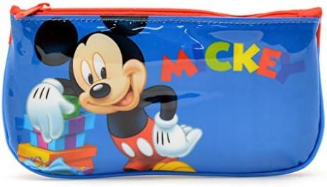 Mickey Mouse Estuche Tela Plano Mickey Estuches, 20 cm, Multicolor: Amazon.es: Equipaje