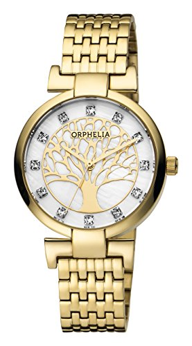 ORPHELIA Lignum Women's Gold Stainless steel watch-OR12701